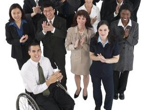 Diversity in the Workplace in a Homogeneous Population
