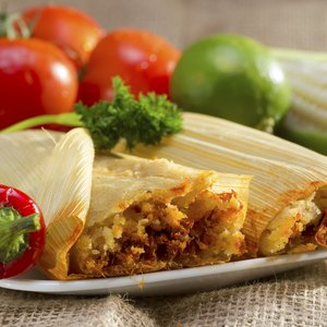 Calories in Pork Tamales