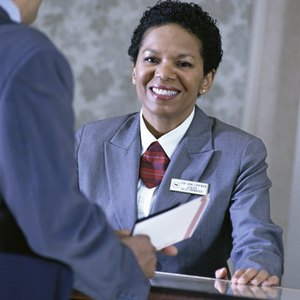How Much on Average Does a Front-Desk Clerk Make at a Hotel Per Year?