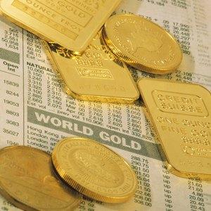 Gold Stock vs. Gold Bullion