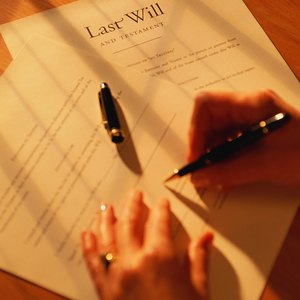 How to Write a Will for a Widow