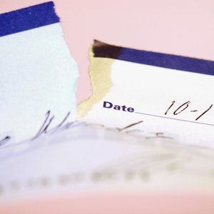 How to Cash a Torn Check