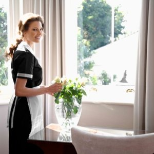 A Cleaning Lady as an Employee Vs. an Independent Contractor