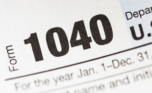 表格1040A的联邦税务说明