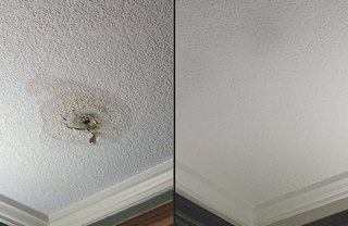 [Article Image] - Patch a Hole in a Textured Ceiling