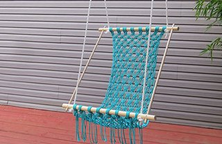 [Article Image] - How to Make a Macrame Hammock
