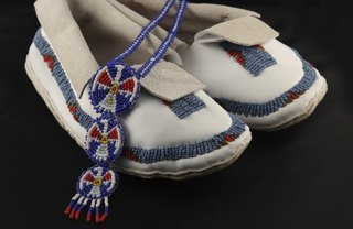 [Article Image] - How to Do Beading for Moccasins
