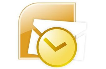 Add email accounts to Outlook 2007 to start receiving and sending emails.