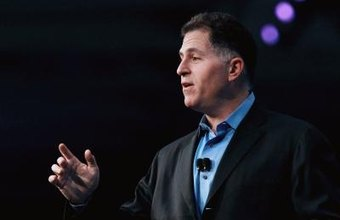 Michael Dell is the founder and CEO of the Dell computer company.