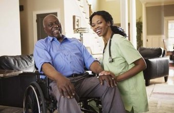 You can get paid caring for ill or injured people in their home.