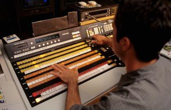 Sound editors use both software and hardware to capture and alter audio.