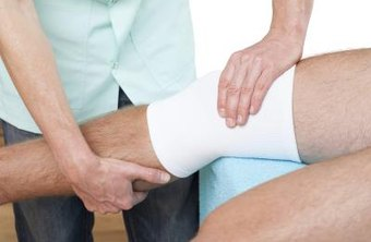 Physical therapy assistants help patients rehabilitate after an injury.