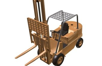 Forklift seat belts can prevent drivers from being crushed when a forklift tips over.