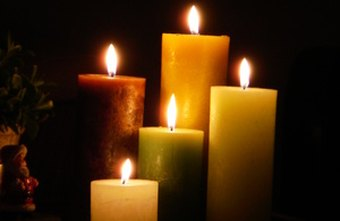Candles add warmth to any decor and help foster calm moods.