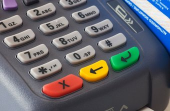 A merchant account business manages credit card processing.