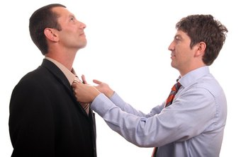 You can handle a conflict between employees.