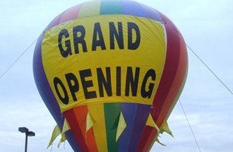 No hot air required for a well-attended grand opening.