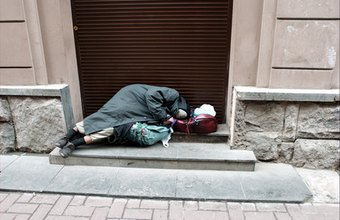 Nonprofit organizations help eradicate problems, such as homelessness.