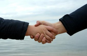 Think of a handshake as the bookends to a successful negotiation.