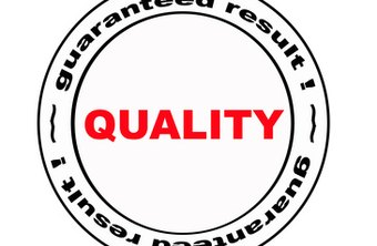 Quality objectives vary based on the specific vision of the company.