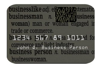 Find a small business card that meets the specific needs of your small company.