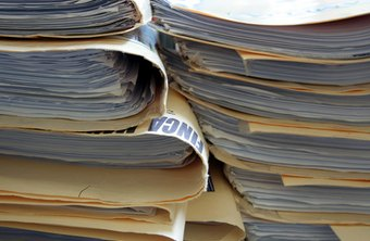 Leave your paper files behind--switch to an electronic document management system.