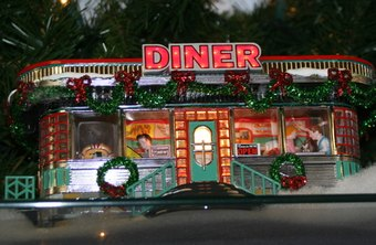 According to the American Diner Museum, diner décor was originally inspired by railroad dining cars.