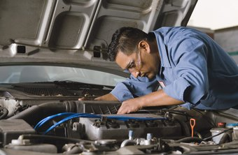 Car mechanics represent one type of installation and maintenance job.
