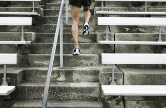 Take advantage of the stairs at your local track.