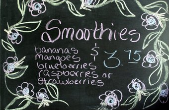 Give samples of your smoothies to garner more customers.