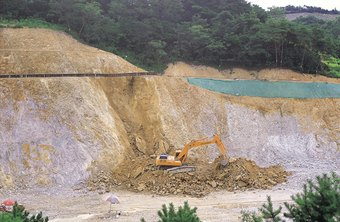 Quarrying sand and gravel is classified as aggregate mining.