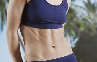Tone up abdominals with core-strengthening exercises and proper nutrition.