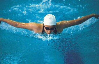 The butterfly is just one type of swim stroke.