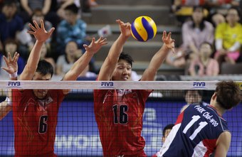 Volleyball Front Row Rules | Chron com