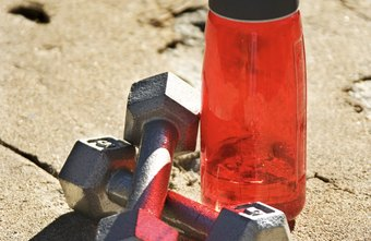 Dumbbells And A Water Bottle Are All You Need To Get An Effective Strength Building