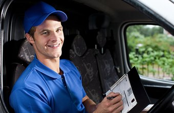 Independent delivery drivers work under contract terms.