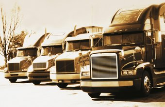 The purchase of a fleet of trucks requires substantial initial financing.