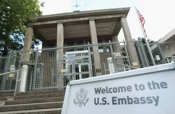 Embassy personnel undergo a rigorous selection process.