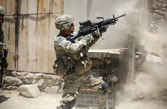 Army Special Forces medics are also extensively trained in land warfare.