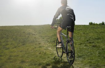 Biking multiple times per week can lead to a slim, healthy body.