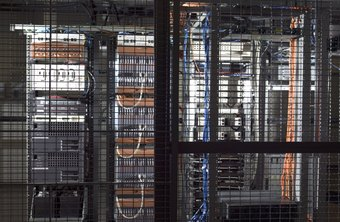 Data centers, such as this, are the core of network systems engineering.