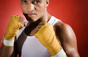 Tape or wraps are used to protect the bones and joints in a boxer's hands.