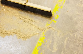 Clean up dust regularly to stay safe.