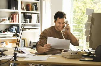 Part of your home phone bill may be deductible.