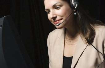 The receptionist is often the first voice that clients hear.
