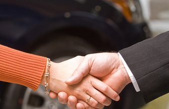 Handshakes often provide both the initial and final steps in the outside sales process.