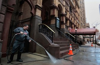 Almost every type of business and homeowner is a prospect for power washing services.