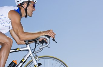 Burn fat with aerobic exercise such as cycling.