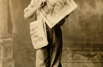 The paperboy has become an icon of bygone days.