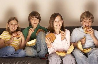 快餐广告增加了青少年食用此类食品的可能性。